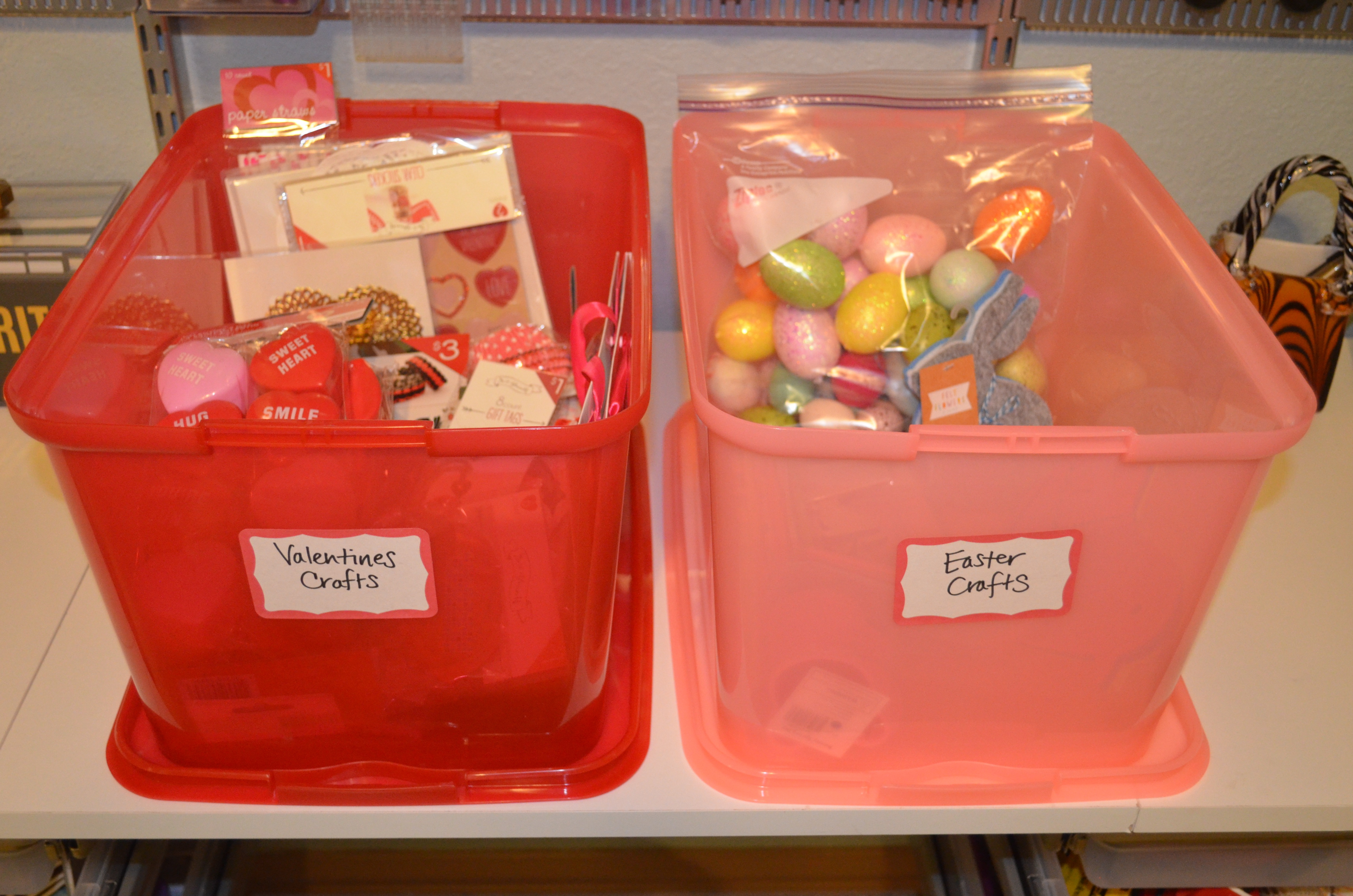 Organizing Your Creative Space Dealing with Seasonal Craft Supplies