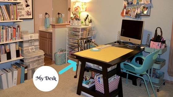 Organizing Your Creative E Make Desk Work For You